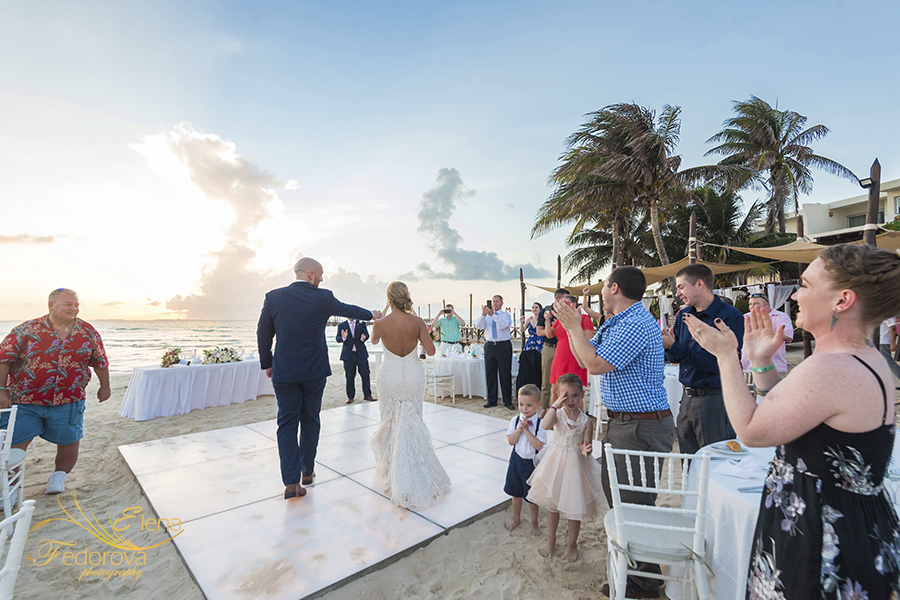 wedding playa norte mia reef isla mujeres
