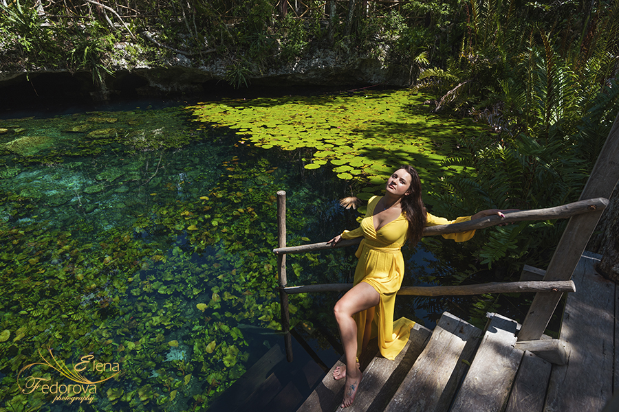 cenotes riviera maya photo session