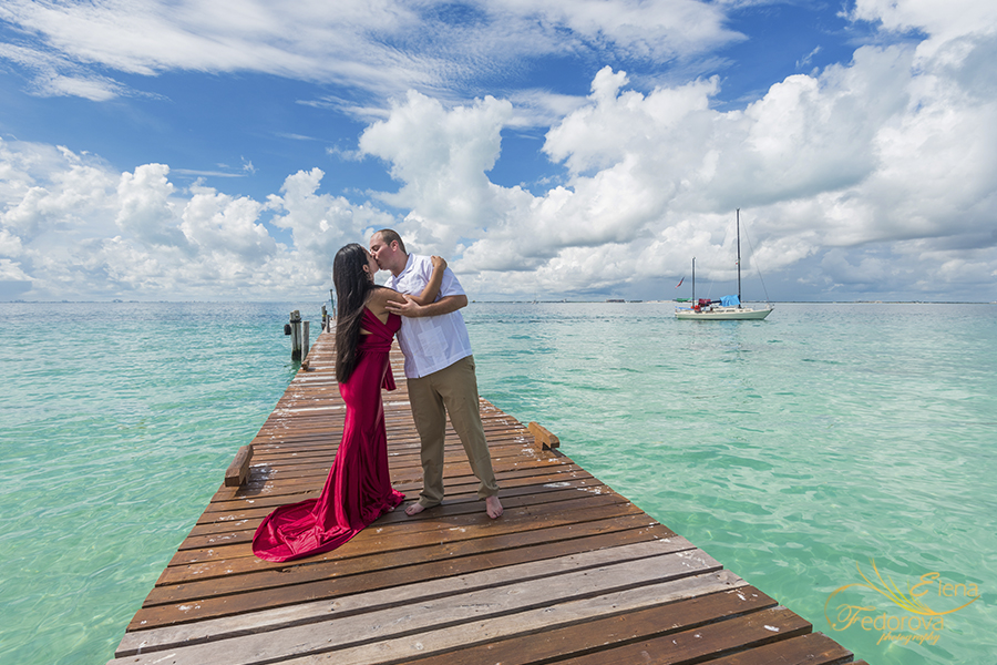 romantic photos cancun isla mujeres