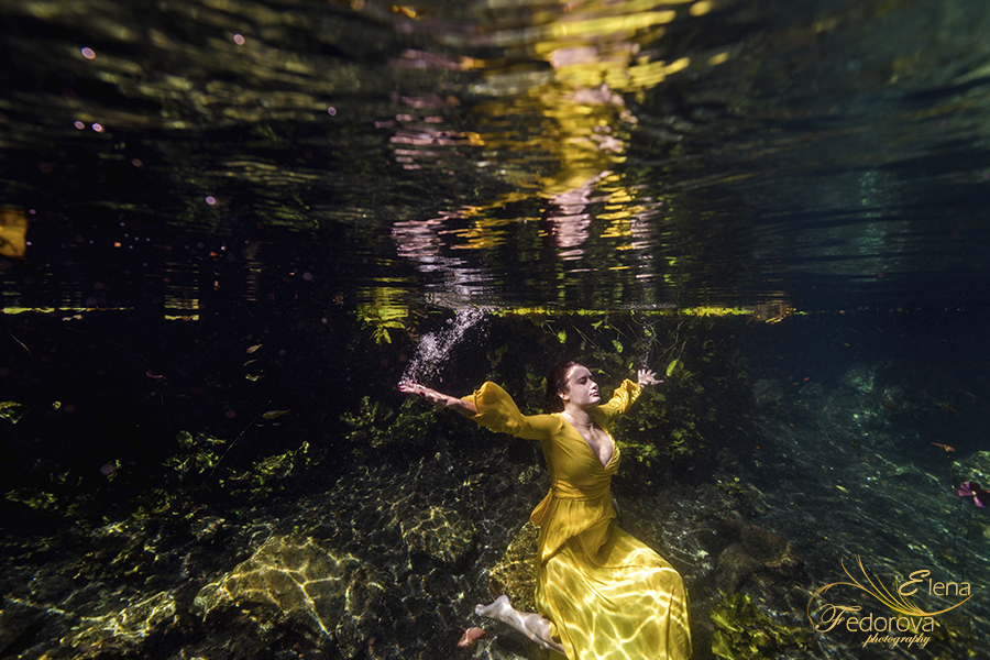underwater photography in cancun