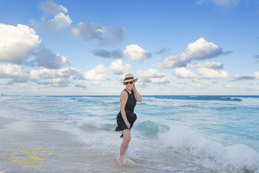 cancun photographer beach photo session