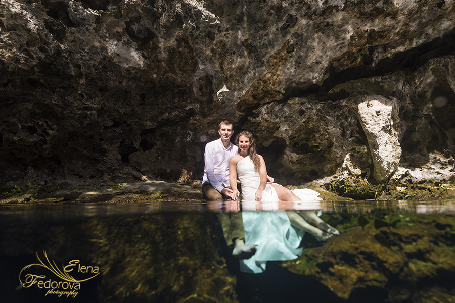 creative photos cenotes riviera maya