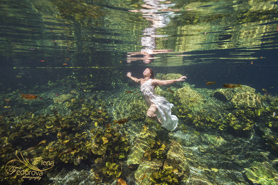 photography underwater riviera maya