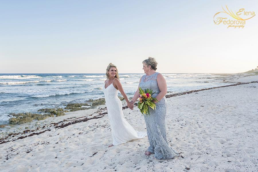 casa sofia tulum wedding ceremony beach photos