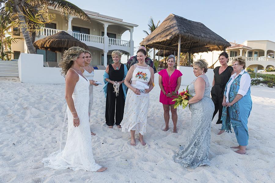 casa sofia tulum wedding ceremony photos