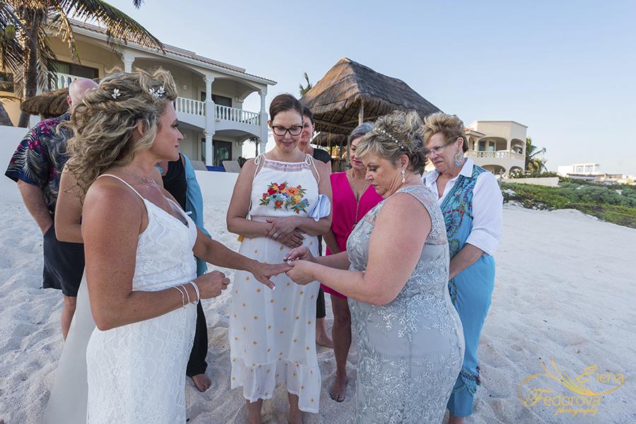 lesbian wedding ceremony tulum mexico