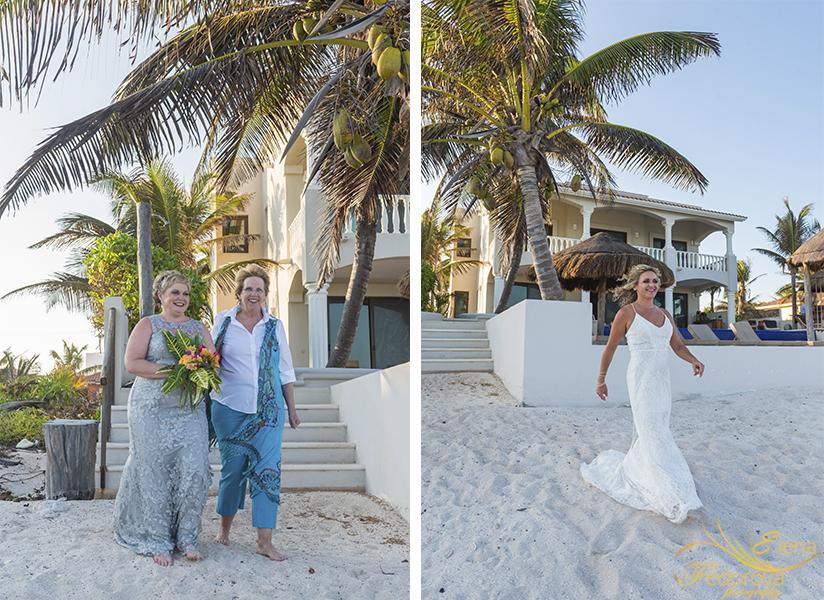 lgbt wedding photos tulum photography