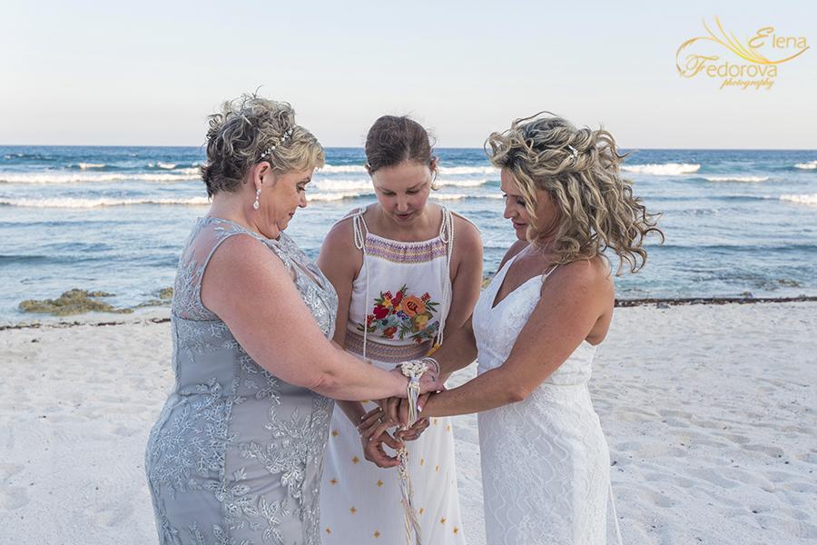 lgbt wedding photos tulum