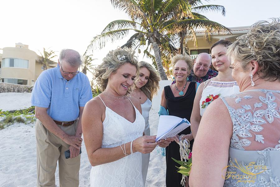 wedding vows in tulum mexico lgbt