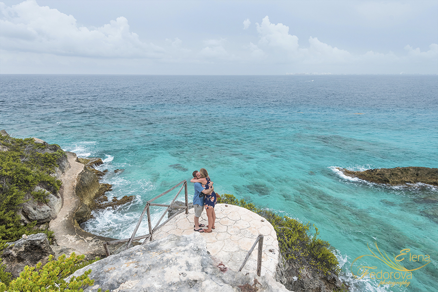marriage proposal photo shoot isla mujeres