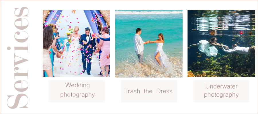 wedding photography packages cancun