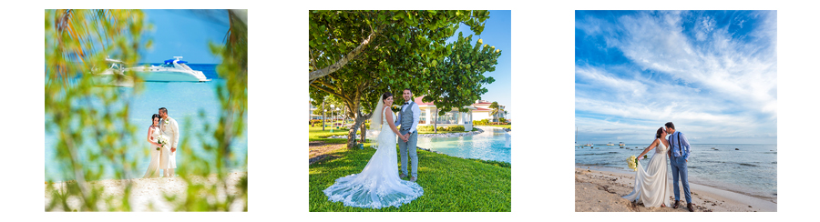 wedding pictures taken in cancun