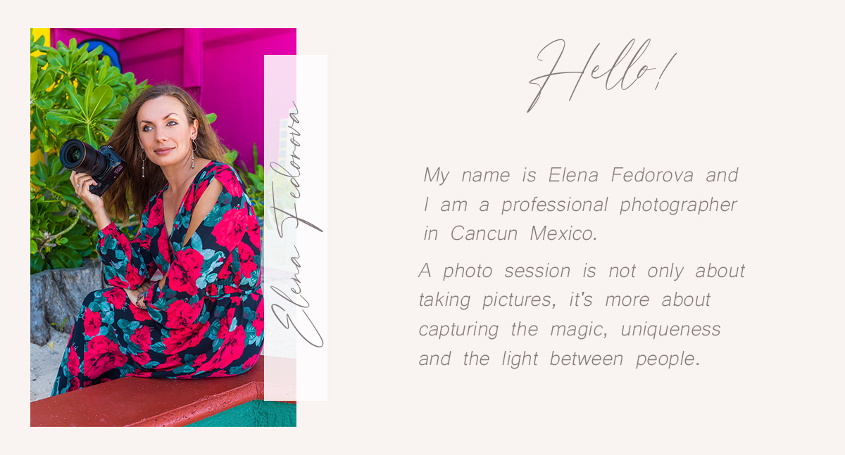 photographer elena fedorova cancun