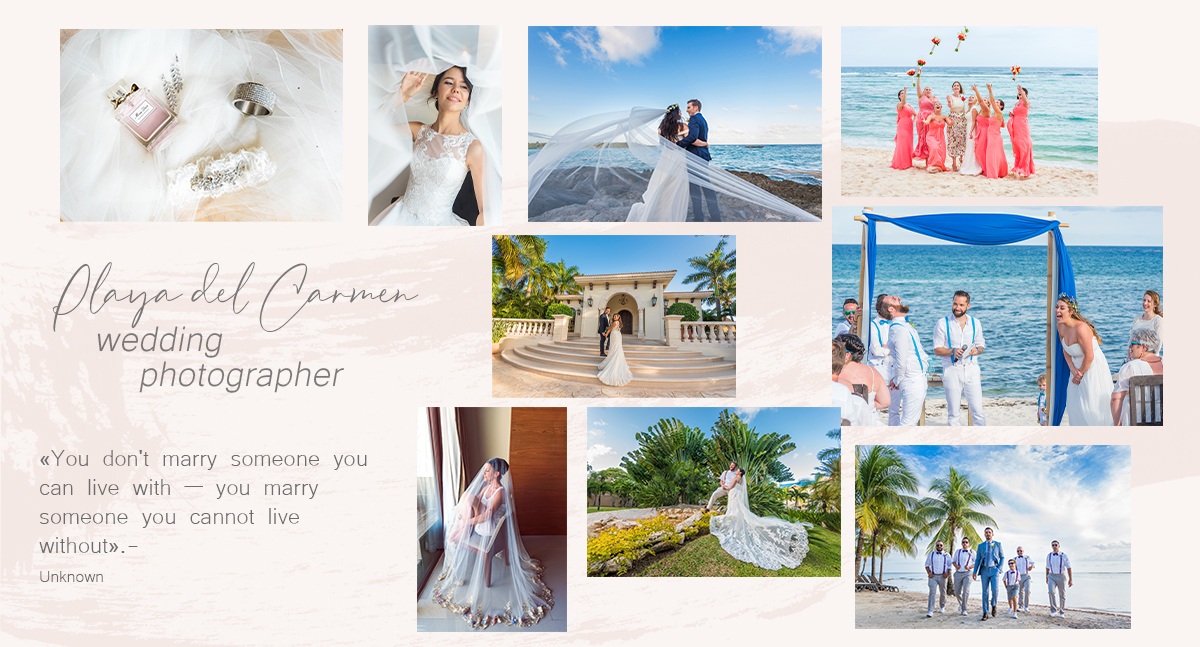 playa del carmen wedding photographers