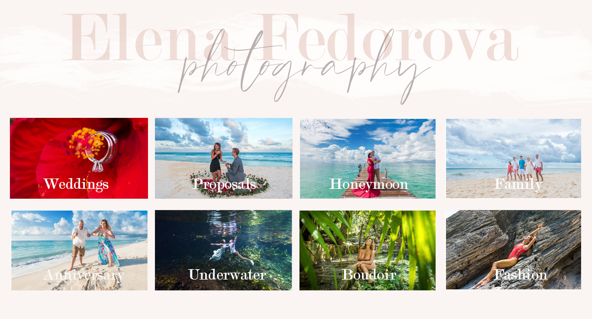 who is elena fedorova photographer cancun
