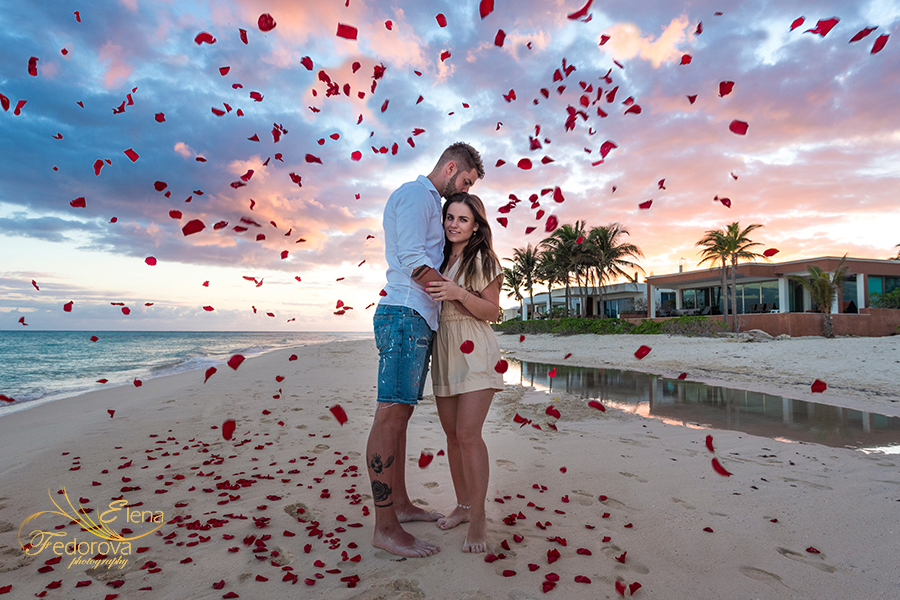 luxury proposals beach mexico