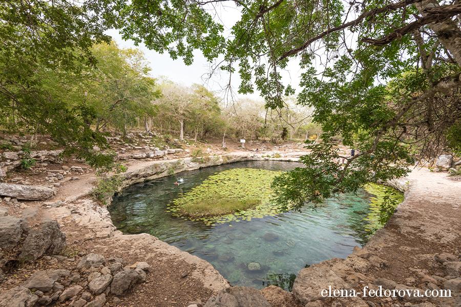 dzibiltantun cenote merida