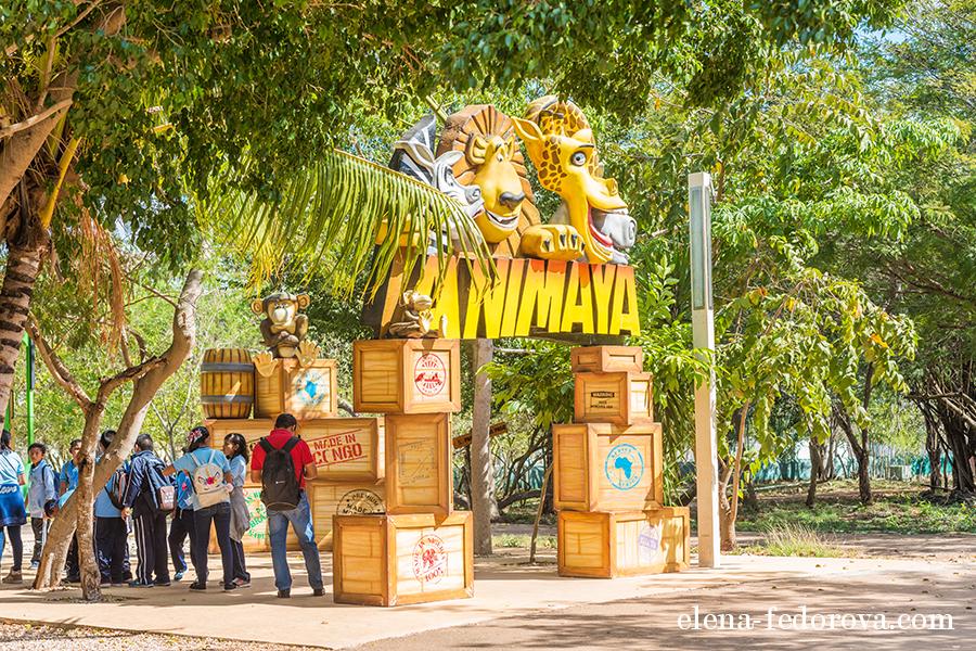 animaya zoo merida mexico