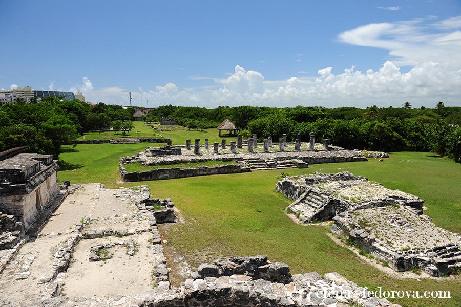 el rey ruins cancun visit