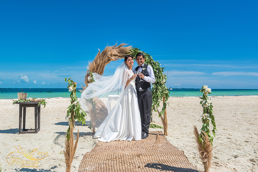 elopement packages for two cancun