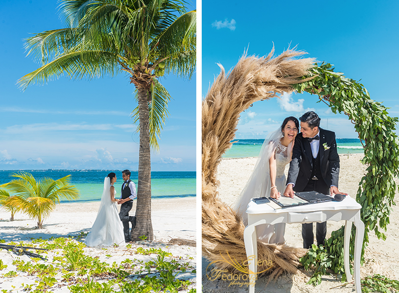 elopement wedding cancun