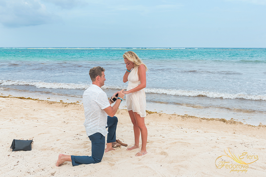how to propose in akumal