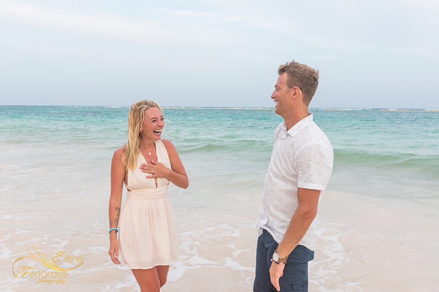lovely proposal photos akumal mexico