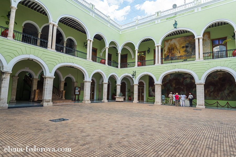 merida mx museum goverment palace