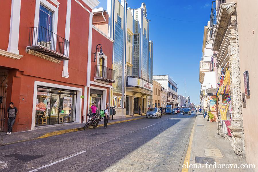 merida yucatan streets photos