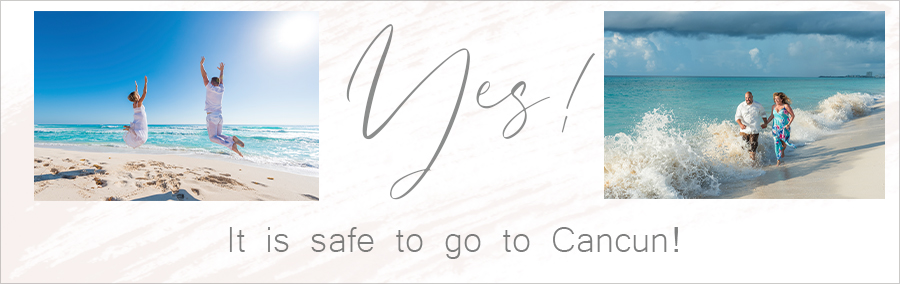 yes it is safe to go to cancun