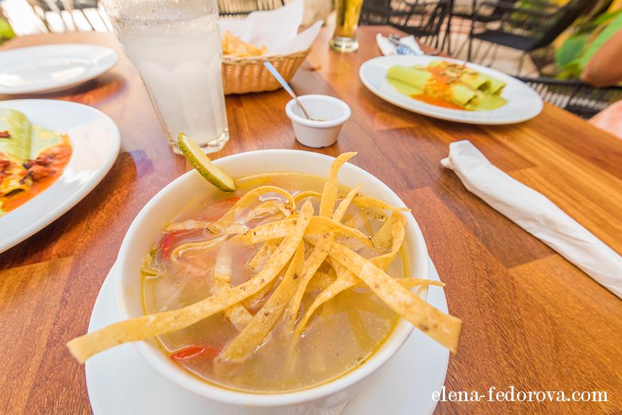 yucatan food tortilla soup