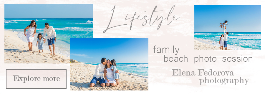 family beach photosession lifestyle