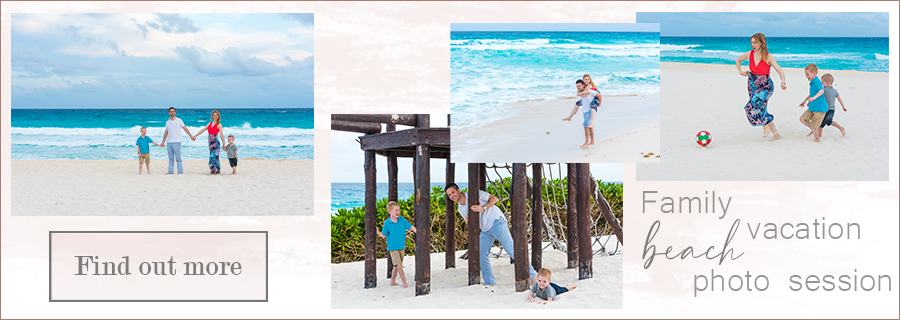 family vacation photo session