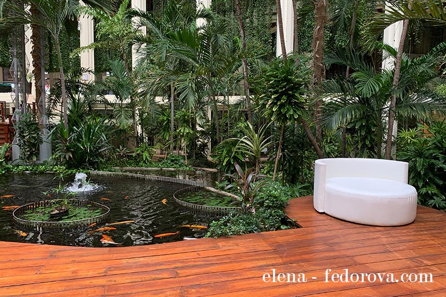 paradisus cancun garden