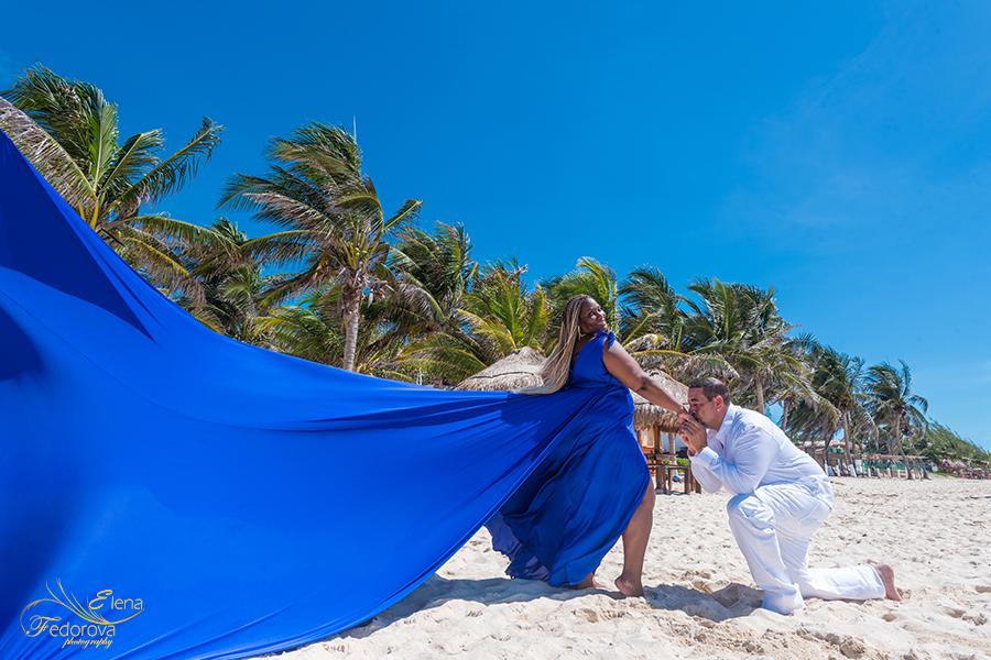 flying dress photoshoot couple