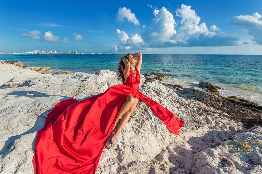 rent flying dress cancun